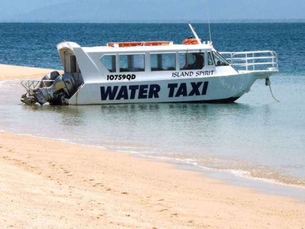 Captain Fozzy's water taxi!